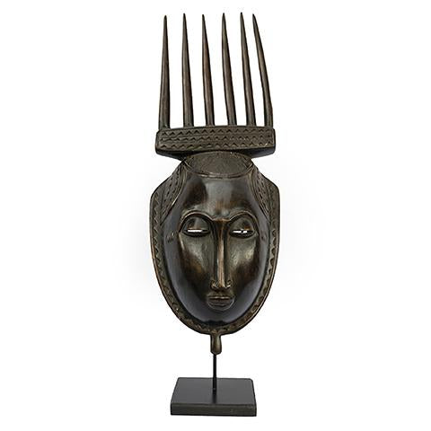 Baule Mask on stand 08