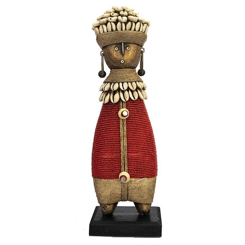 Beaded Namji Doll 08 Red