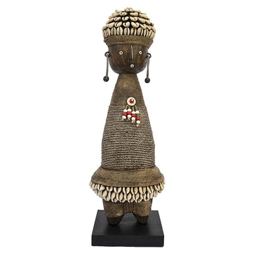 Beaded Namji Doll 06 Silver