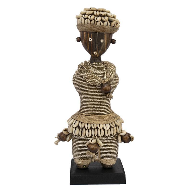 Beaded Namji Doll 07 Silver