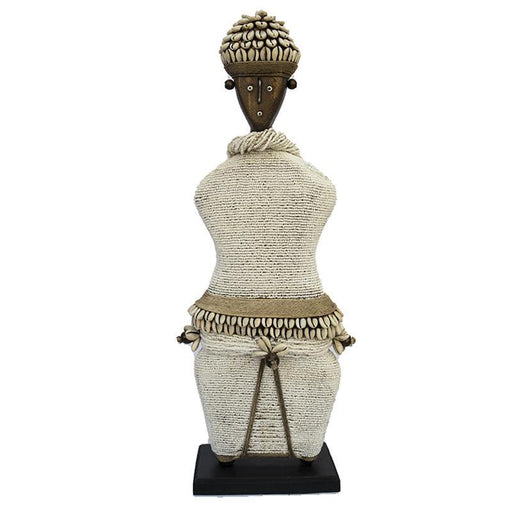 Beaded Namji Doll 02 White