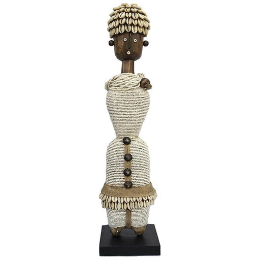 Beaded Namji Doll 03 White