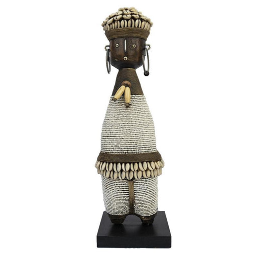 Beaded Namji Doll 05 White
