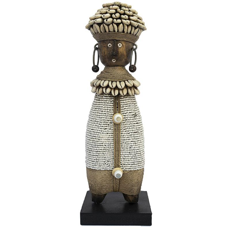 Beaded Namji Doll 08 White