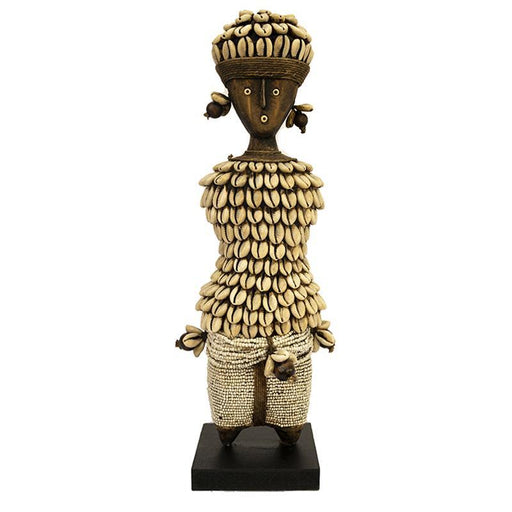 Beaded Namji Doll 09 white