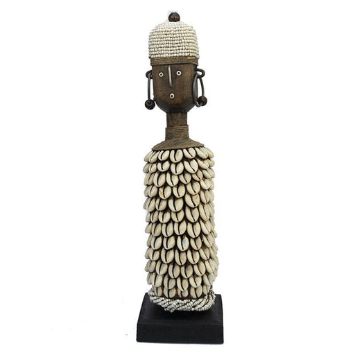 Beaded Namji Doll 20 White