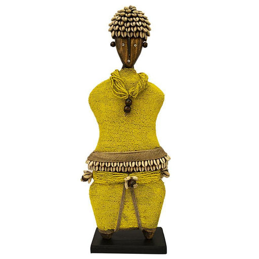 Beaded Namji Doll 02 Yellow