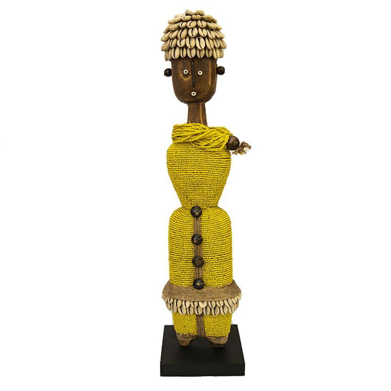 Beaded Namji Doll 03 Yellow
