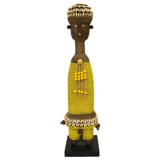 Beaded Namji Doll 04 Yellow
