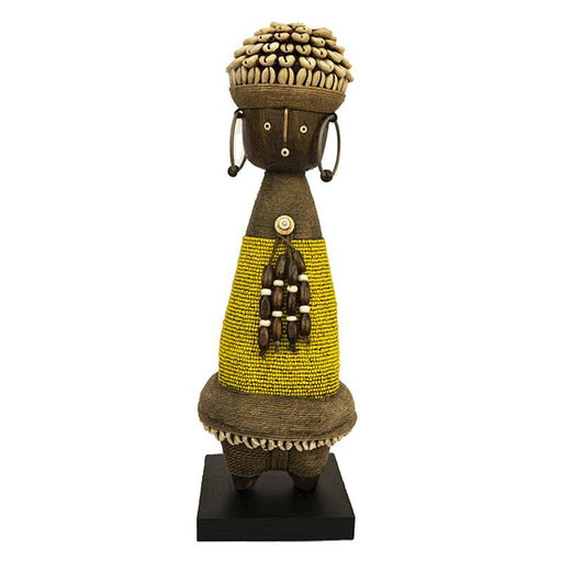 Beaded Namji Doll 06 Yellow