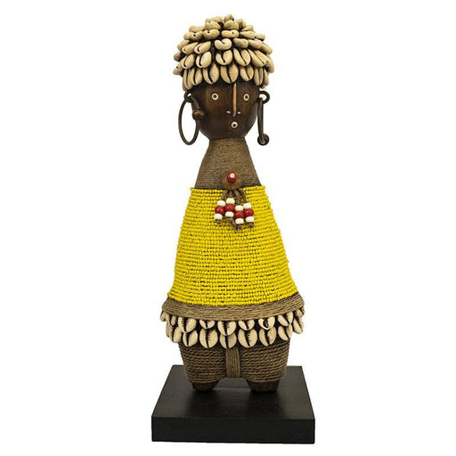 Beaded Namji Doll 05 Yellow