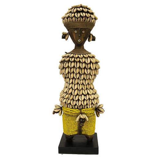 Beaded Namji Doll 09 Yellow