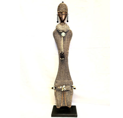 Beaded Namji Doll 70 Silver