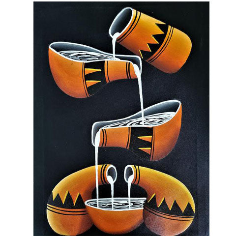 Calabashes Painting 06