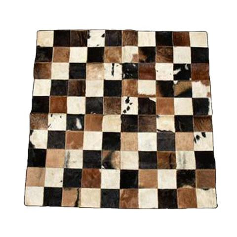 Cow Hide Patch Rug 01