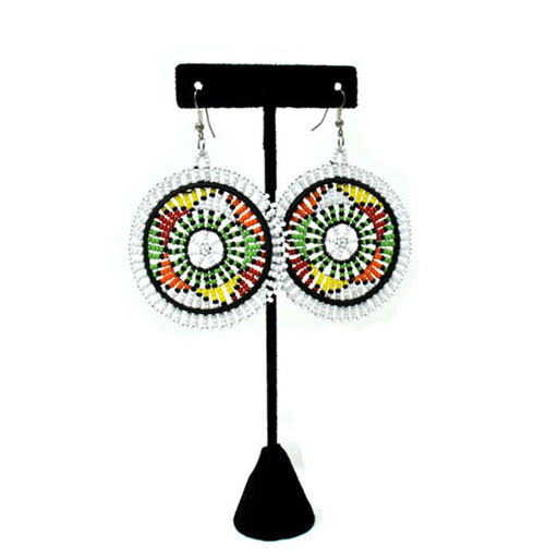Duara Beaded Earrings 04