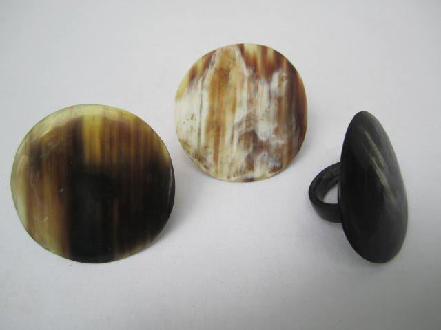 Round Horn Rings Assorted