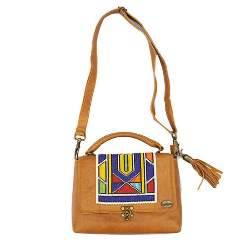 Karungi Beaded Leather Bag 02