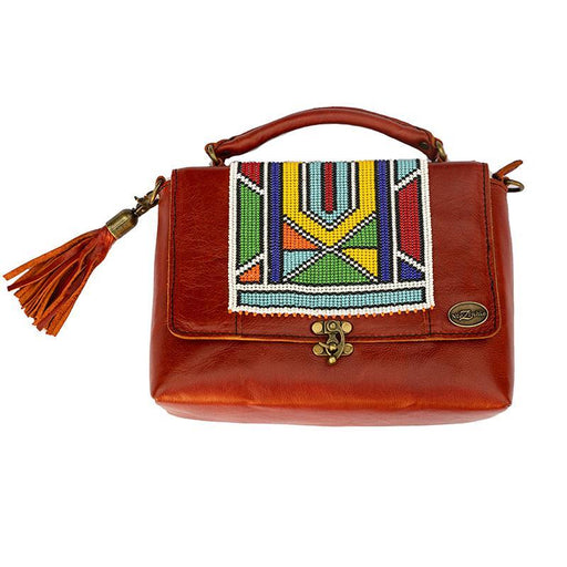 Karungi Beaded Leather Bag 04