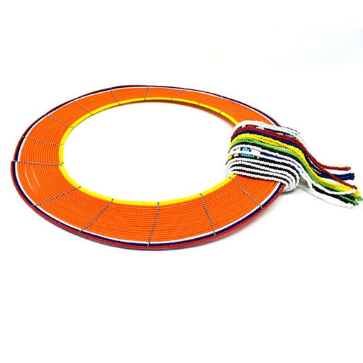 Maasai Collar with Tie 02