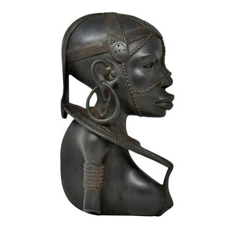 Maasai Warrior Woman Plaque