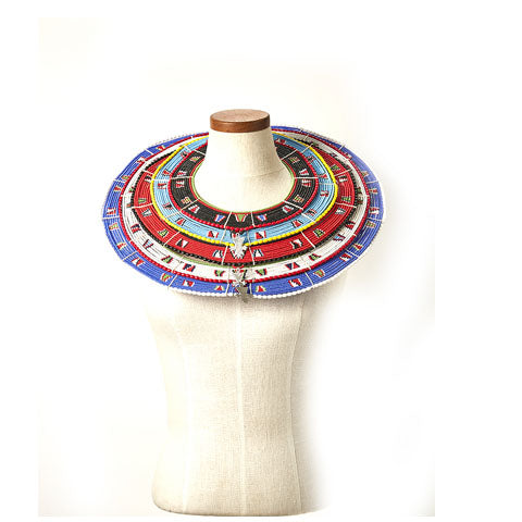 Maasai Wedding Collar - 5 Tiers