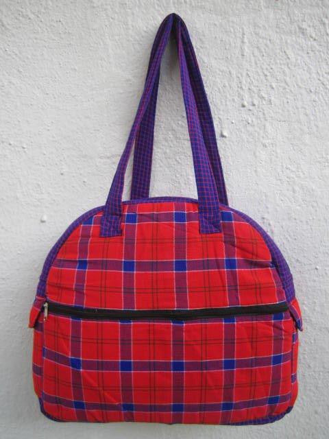 Maasai Shuka Safari Bag 7