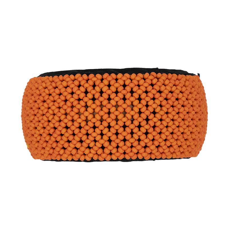 Moyo Beaded Bangle Orange