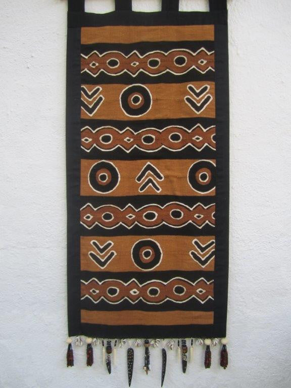 Mud Cloth Wall Art 1