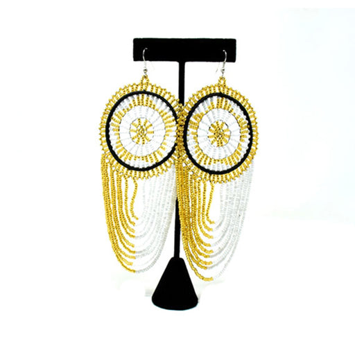 Mwamvuli Beaded Earrings 02
