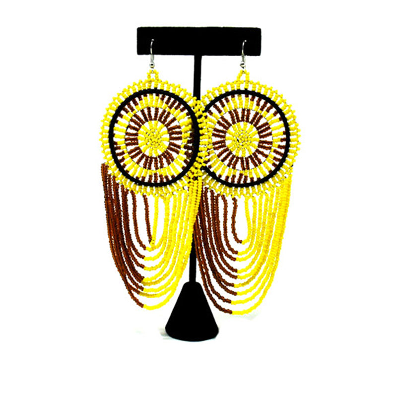 Mwamvuli Beaded Earrings 05