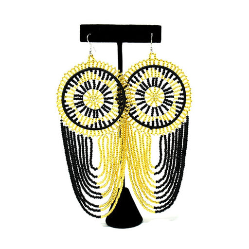 Mwamvuli Beaded Earrings 07