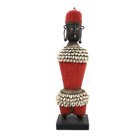 Beaded Namji Doll 85 Red