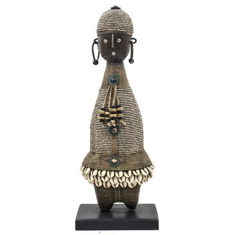 Beaded Namji Doll 87 Silver
