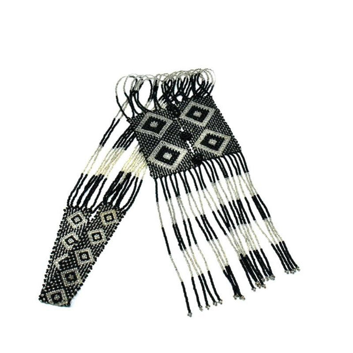 Ndebele Long Tie Necklace 02