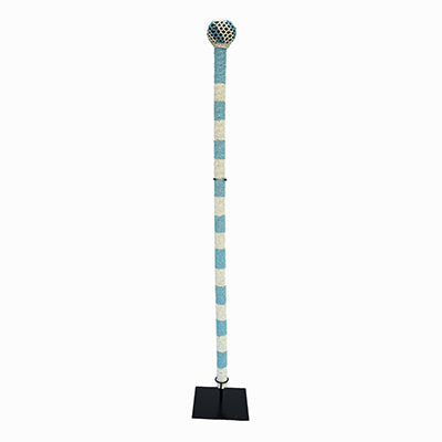 Ndebele Beaded Walking Stick 04