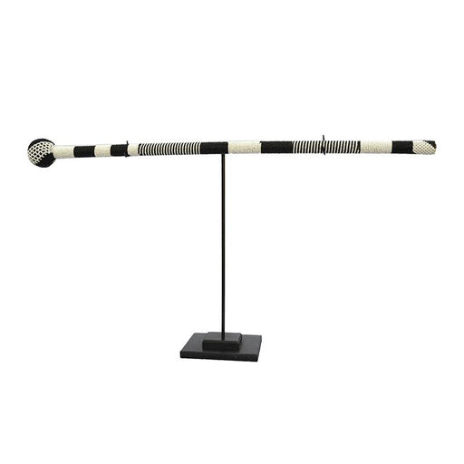 Ndebele Beaded Walking Stick 02