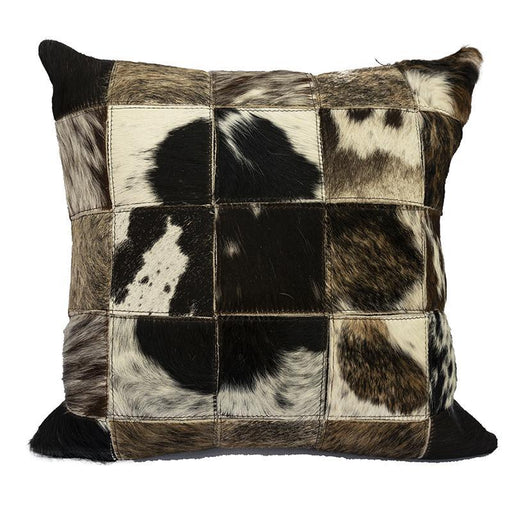 Nguni Cowhide Dark Pillow