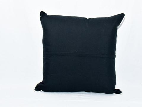 Patch Black and White Pillow Cover 2