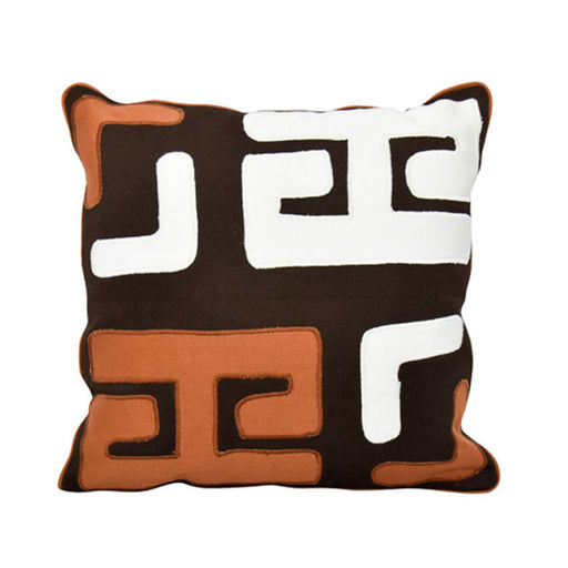 Patch Multi color Pillow Cover 02