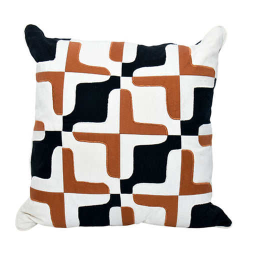 Patch Multi color Pillow Cover 05