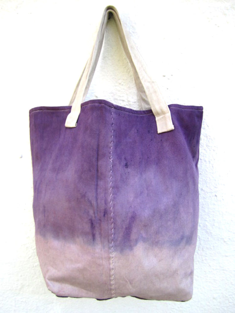 Recycled Dhow Bag Purple