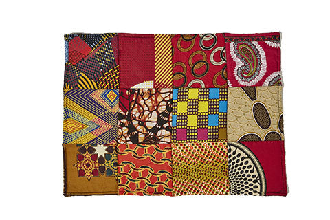 Table Mat Kitenge Patch 01 Set of 6