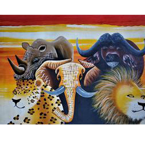 The Big Five Painting 01