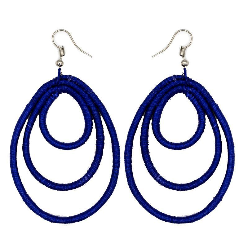 Machozi Embroidery Earrings 02