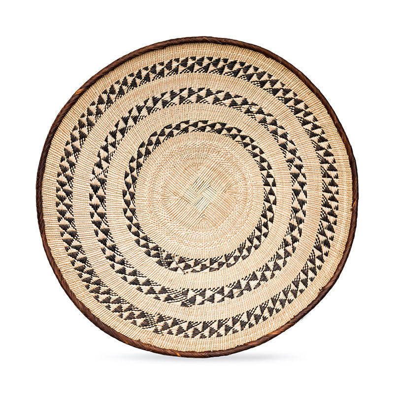 Tonga Pattern Basket Large