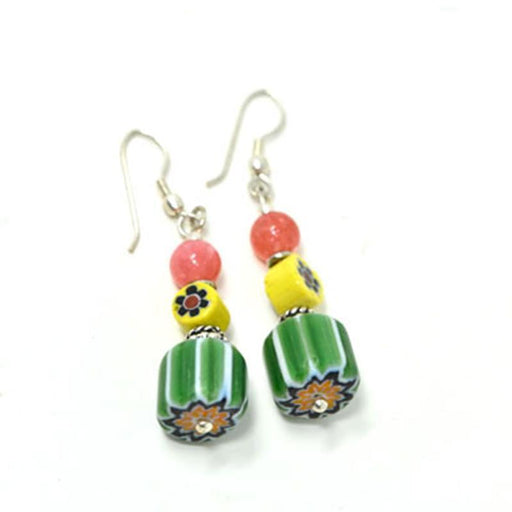 Trade Beads Earrings 01