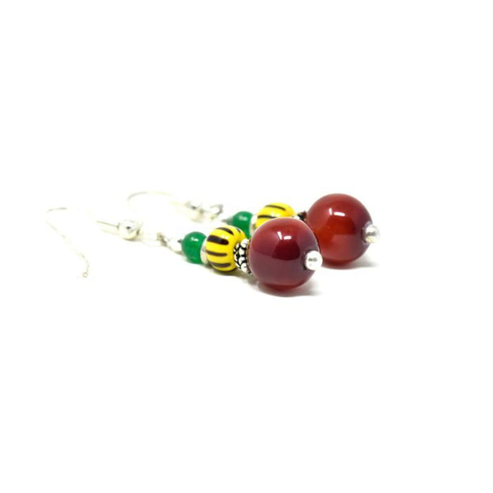 Trade Beads Earrings 02
