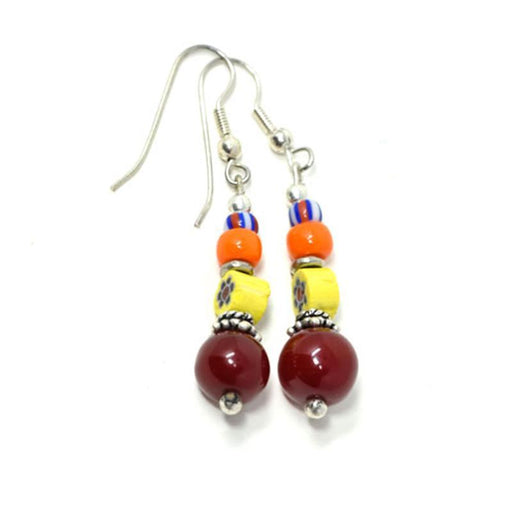 Trade Beads Earrings 03