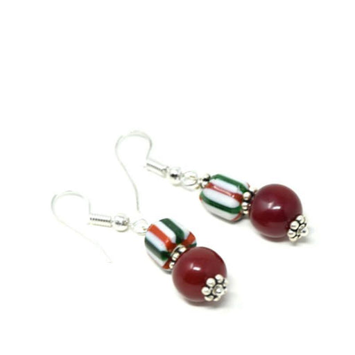 Trade Beads Earrings 11
